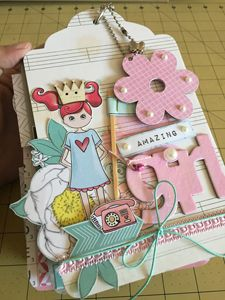 kit mini álbum Girl  - SCRAP GOODIES