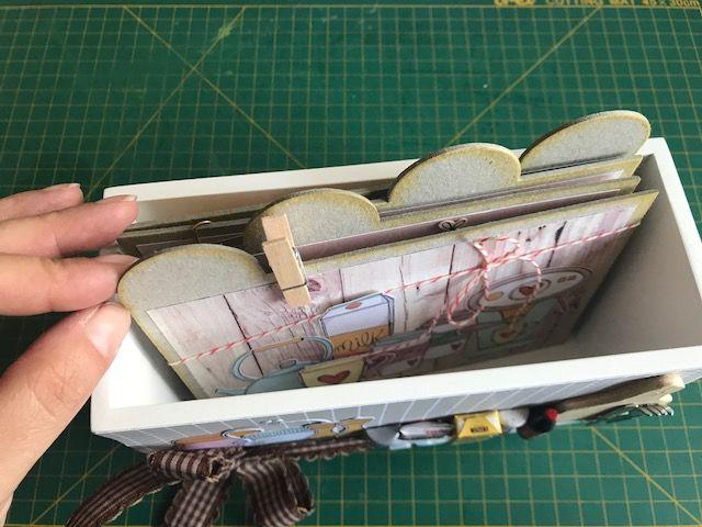 kit  RECEITAS na caixinha de madeira   - SCRAP GOODIES
