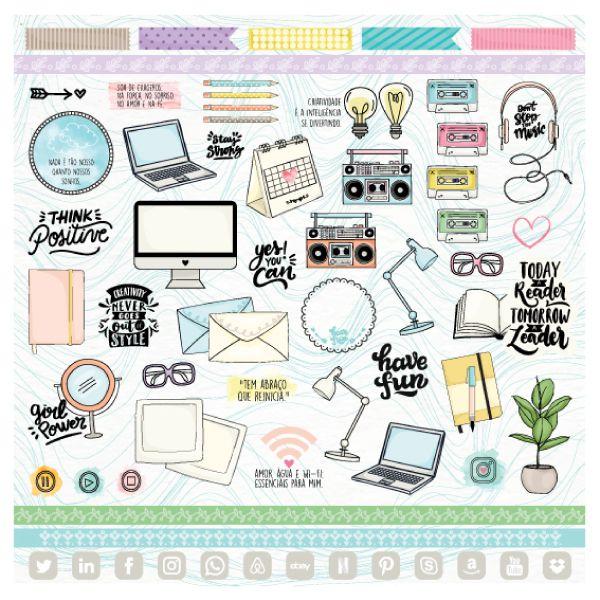PP159 - Criatividade  - SCRAP GOODIES