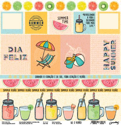 PP163 - Dia de Calor  - SCRAP GOODIES