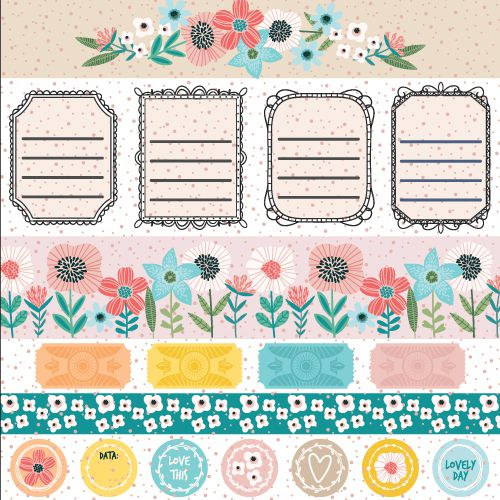 PP174 - Papel Cute  - SCRAP GOODIES