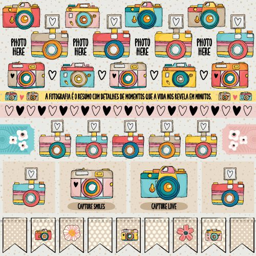 PP175 - Papel SMILE - SCRAP GOODIES