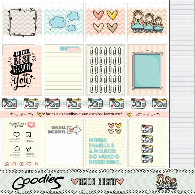 PP 196 - Be the best version of you  - SCRAP GOODIES