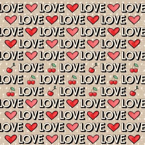 PP 235 - LOVE, LOVE, LOVE  - SCRAP GOODIES
