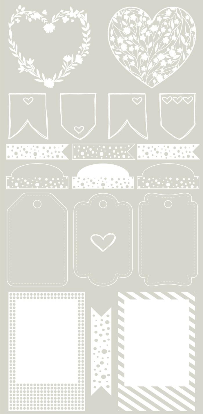 TRANSPARÊNCIA cristal - GRATIDÃO - impressão branca  - SCRAP GOODIES