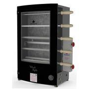 Assador Rotativo a Gás Baixa Pressão  5 espetos PRRT-520 BLACK STYLE Progás