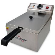 Fritadeira Elétrica 1 Cuba 5 Litros De Óleo Inox 220V Fe-10-N Skymsen