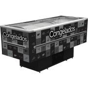 ILHA PARA CONGELADOS 2M ICED-568 PRETA 110V FRICON