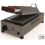Prensa Elétrica De Crepes Suíço 06 Cavidades PRK-06 127v Progás