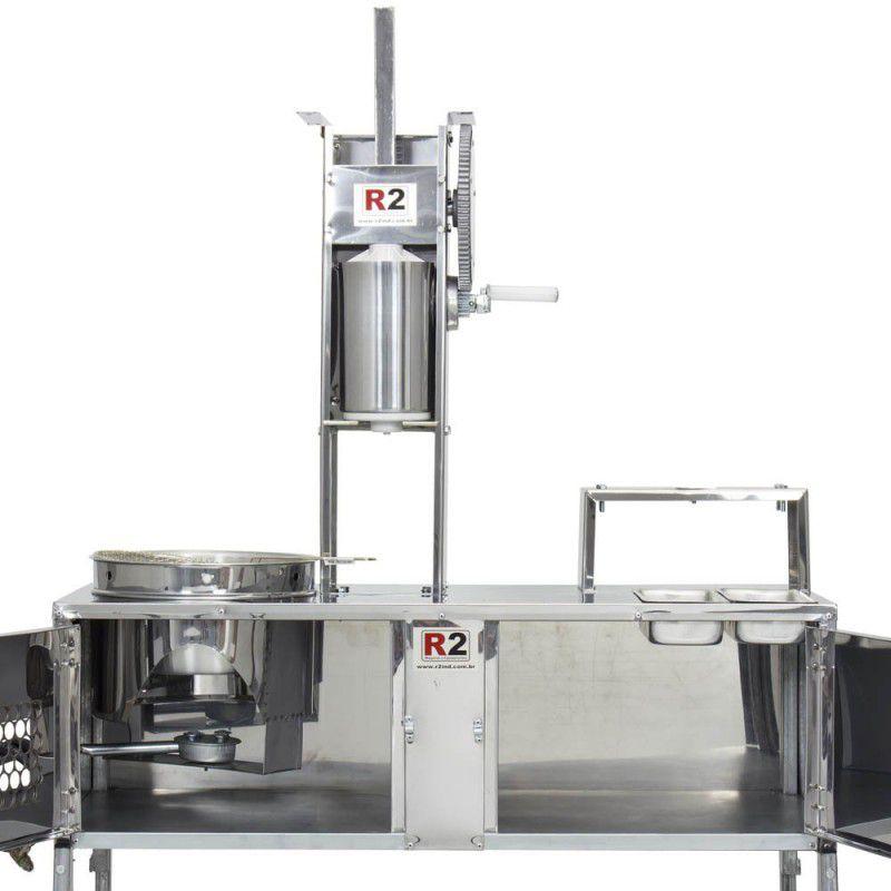 Bancada de Churros Masseira Engrenagem com 3 Doceiras - R0004-3 R2