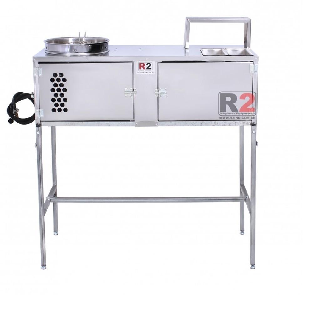 Bancada de Churros Masseira Engrenagem com 1 Doceira R0004-1 R2