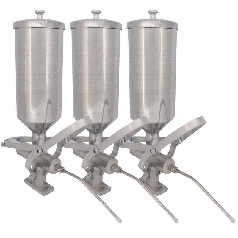 Bancada de Churros Masseira Fuso com 3 Doceiras - R0004-6 R2