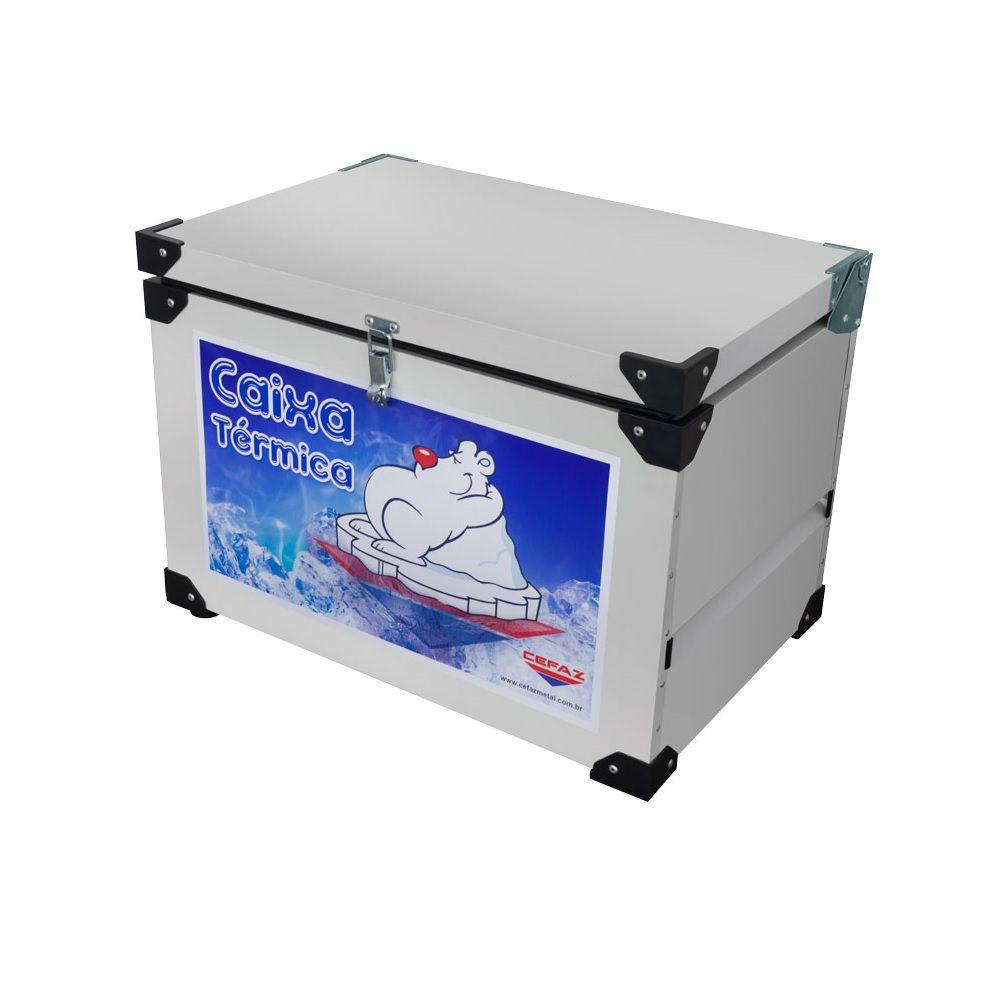 Caixa Térmica 35 Litros Chapa Int. Inox -  CTI-35 - CEFAZ