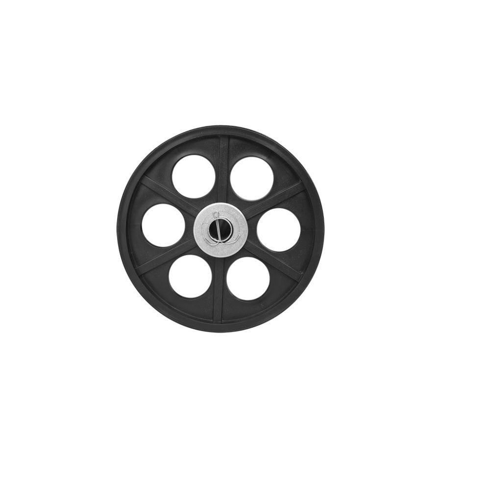 Carrinho de Churrasco Simples Chapa Branca com Rodas Maciças - BS01M -  CEFAZ