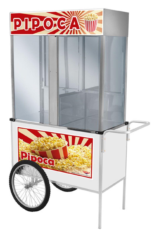 Carrinho de Pipoca Luxo Com Rodas de Bicicleta - BL21RB - CEFAZ