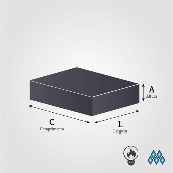 "CHAPA À GÁS - LINHA ""PROFISSIONAL""  -  4 QUEIMADORES C/ GAVETA - 100 X 50 CM CH.2.104 - MARCHESONI"