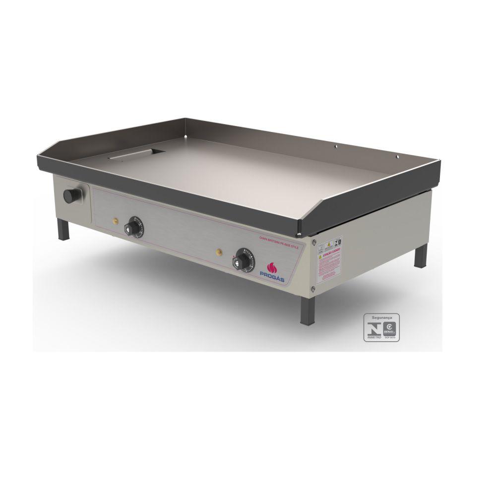 Chapa Bifeteira Elétrica 4000w 220v PR-800 E Progás