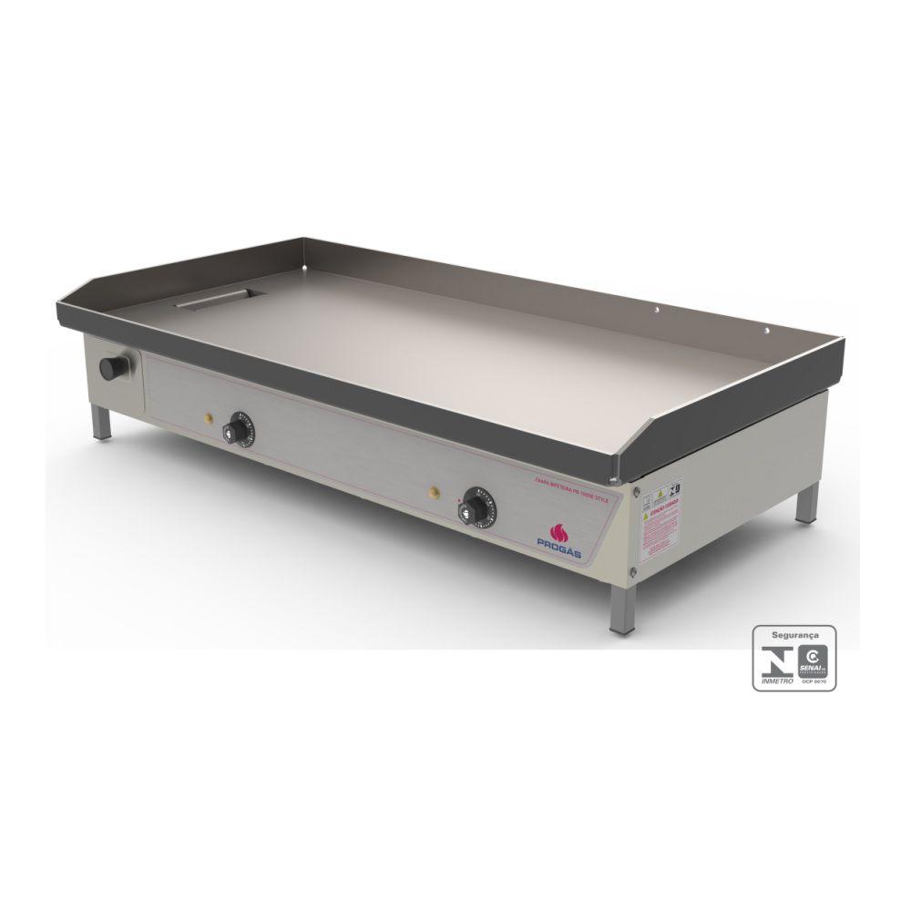 Chapa Bifeteira Elétrica 5000w 220v PR-1000 E Progás