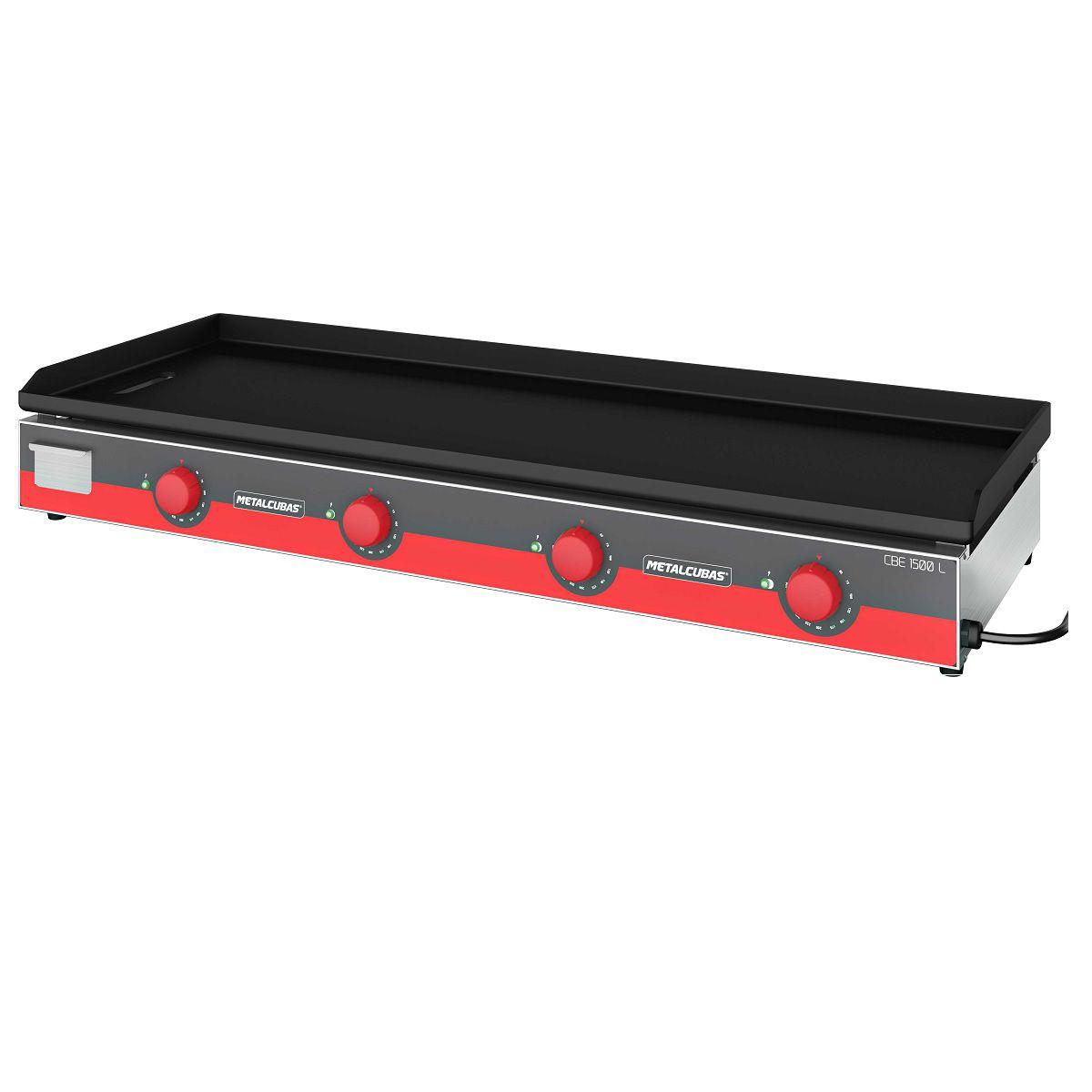 Chapa Bifeteira Elétrica Light 150 X 52,5 Cm CBE 1500L Metalcubas