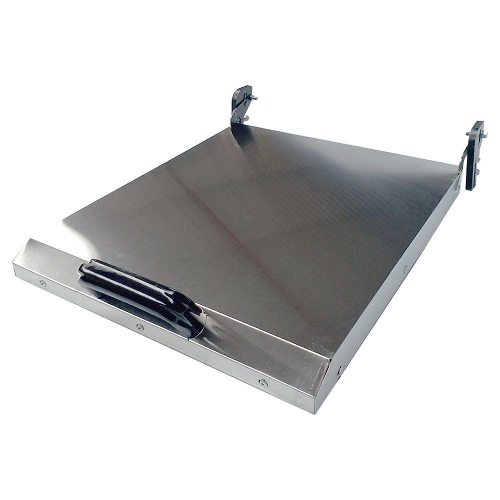 Chapa Bifeteira Gás Pro 60 Cm com Prensa Pão CBG 600 PRO PP Metalcubas