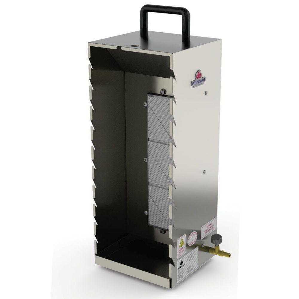 Churrasqueira a Gás Baixa Pressão P/ 10 Espetinhos  PR-199 Progás