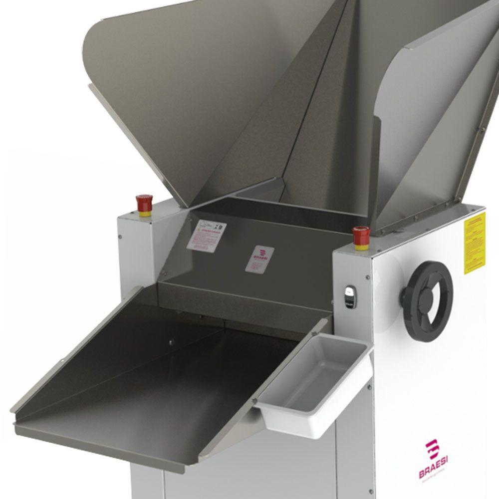 Cilindro Industrial Inox 500 mm 2 Motores 1,5 CV Trifásico CBI-500N/1 2M 220T Braesi