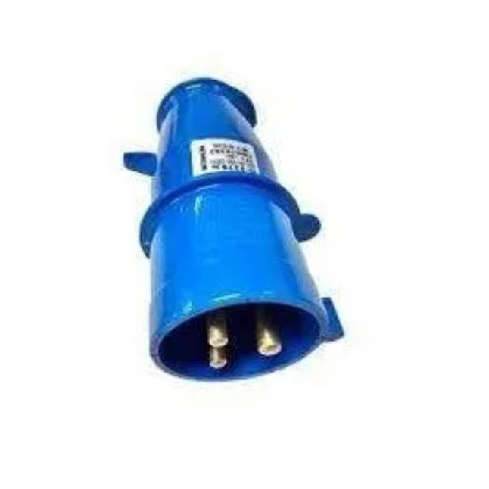 Conjunto Industrial Tomada N3256 + Plug N3276 2P+T 32A Steck