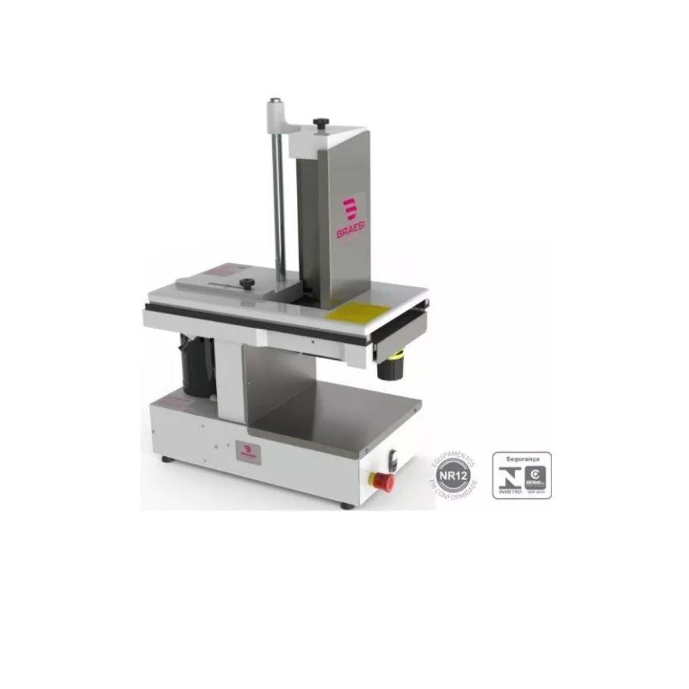 Cortador de Frios Automático Disco de Corte 300mm 1/3 CV CFBA-30/1  BIVOLT Braesi