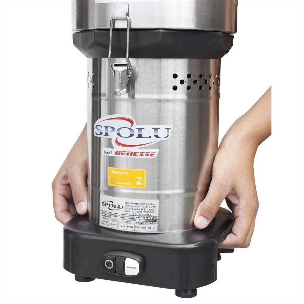 Cortador Processador Industrial de Alto Rendimento Cutter 6 Litros Bivolt SPL-201