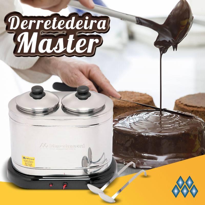 """DERRETEDEIRA - LINHA """"MASTER""""  - 2 CUBAS COM CAPACIDADE 1 KG CADA DR.1.021/022 MARCHESONI"""