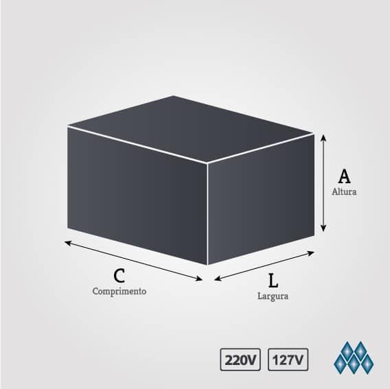 ESTERILIZADOR 2 BULES LUXO C/ TERMOSTATO ES.2.291/292 MARCHESONI
