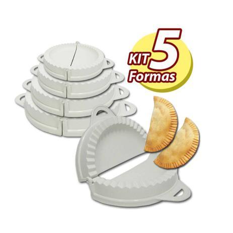 Formas para Pastel Risoli Salgados Keita FP05 com 5 Unidades