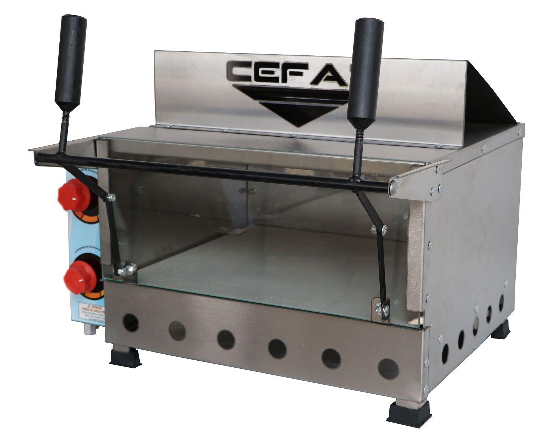 Forno de Pizza à Gás Refratário com Grill  FRG-01 Cefaz