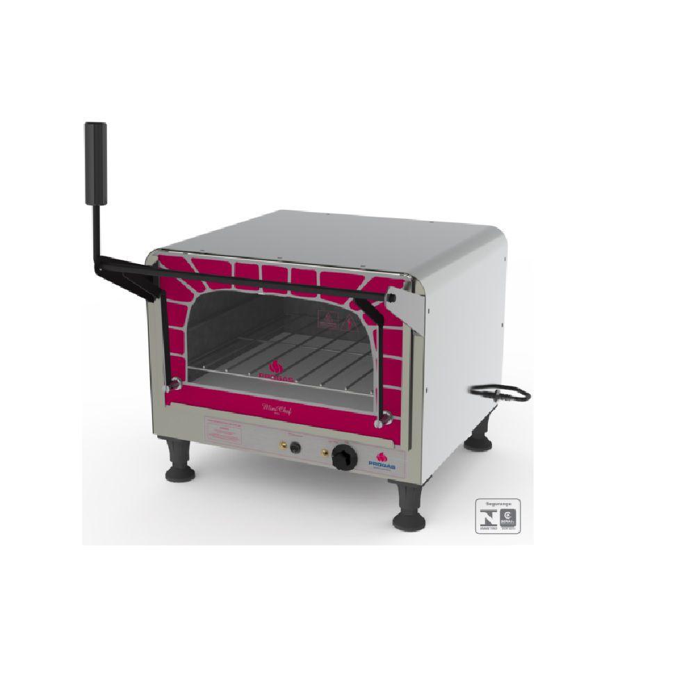 Forno Elétrico Refratário Mini Chef PRPE-400 STYLE G2 127V Progás