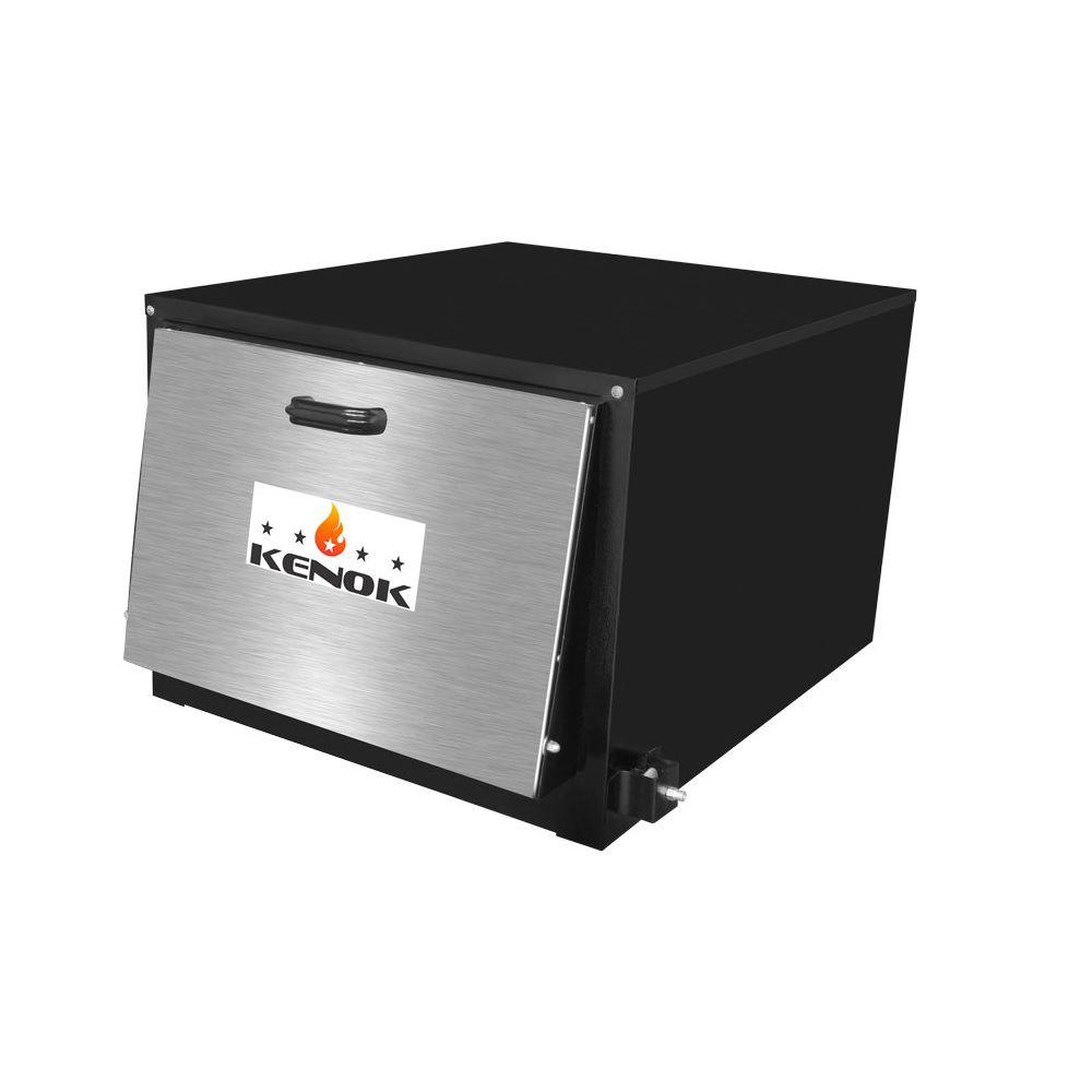 Forno Industrial Alta Pressão 104  Litros Tampa de Inox F104AP.906 Kenok