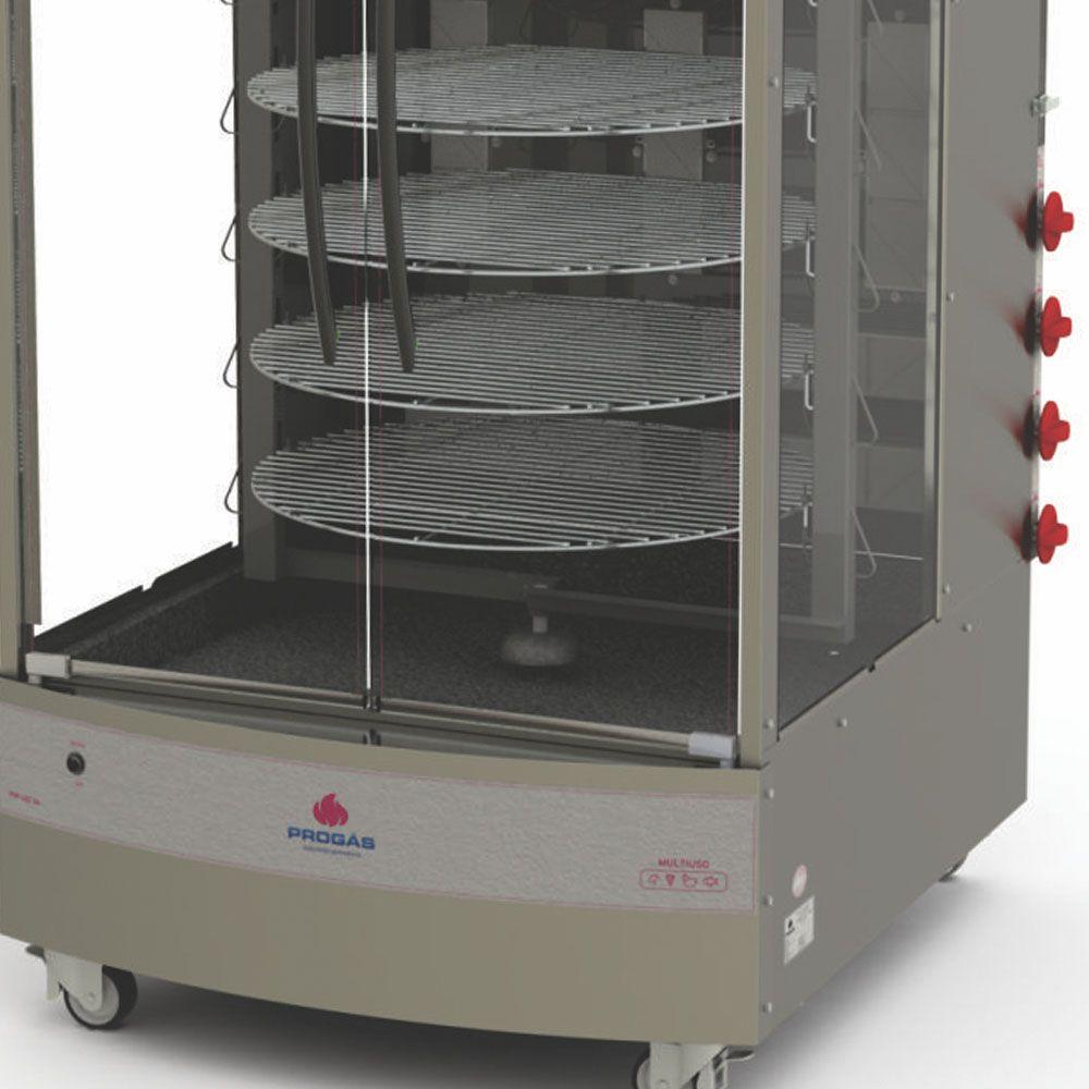 Forno Multiuso Giratório a Gás GLP 128 Kg  PRP-482 G4 BIVOLT Progás