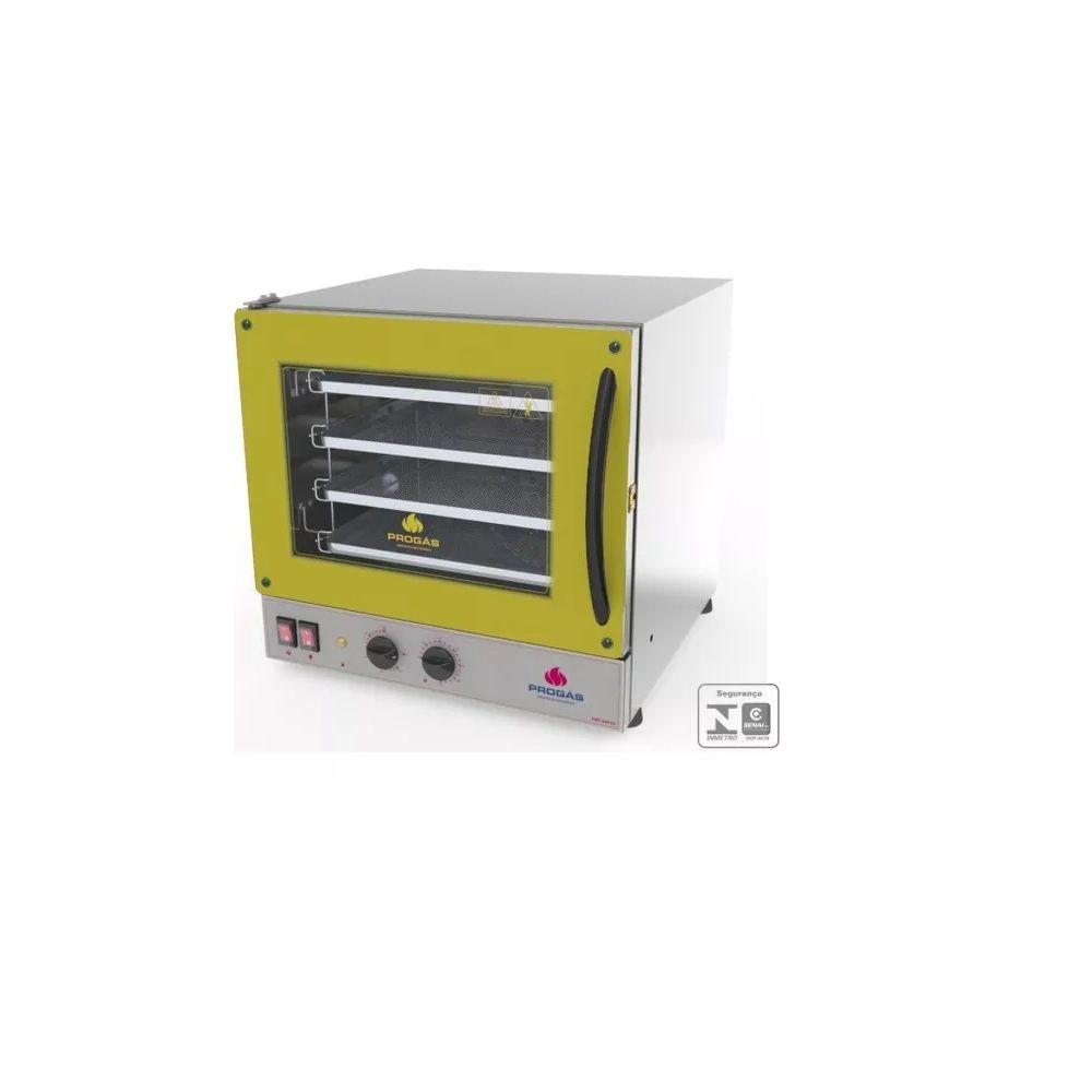 Forno Turbo Elétrico Fast Oven PRP-004 G2 Amarelo 127V Progás
