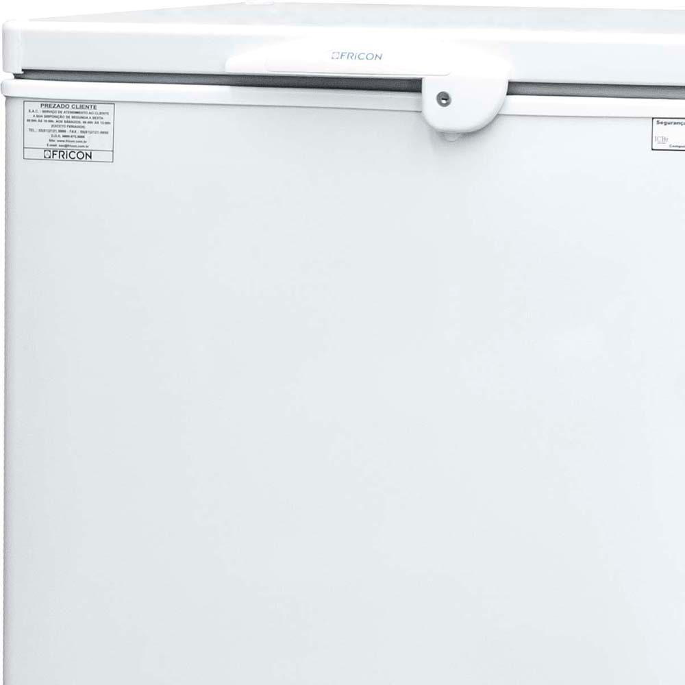 Freezer Conservador de Dupla Ação Horizontal 1 Porta  HCED-216 127v Fricon