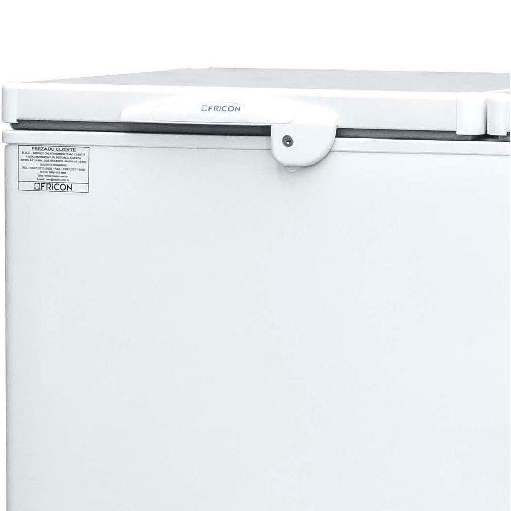 Freezer Horizontal Conservador de Dupla Ação 411 L  HCED-411 220v Fricon
