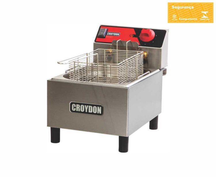 Fritadeira Elétrica 1 Cuba 4,5 Litros FC1B Croydon