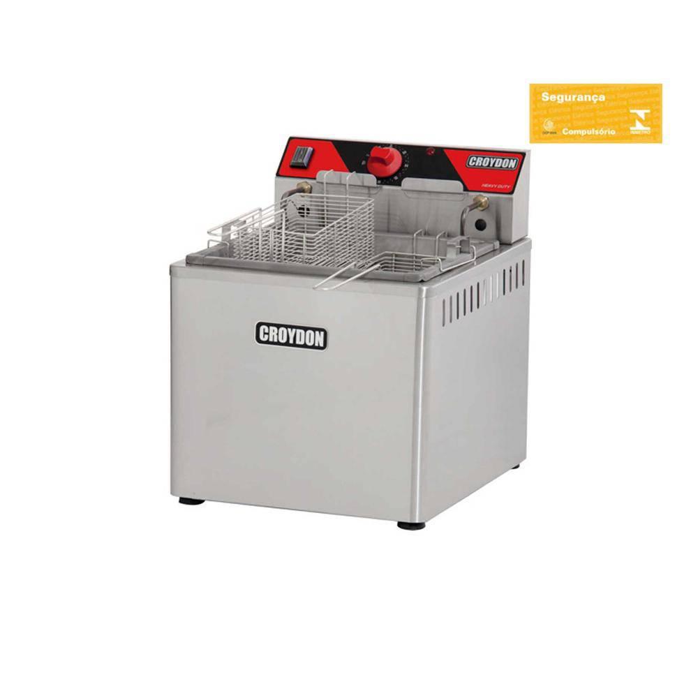 Fritadeira Elétrica Água e Óleo De Mesa 5000W Fam5 Crydon