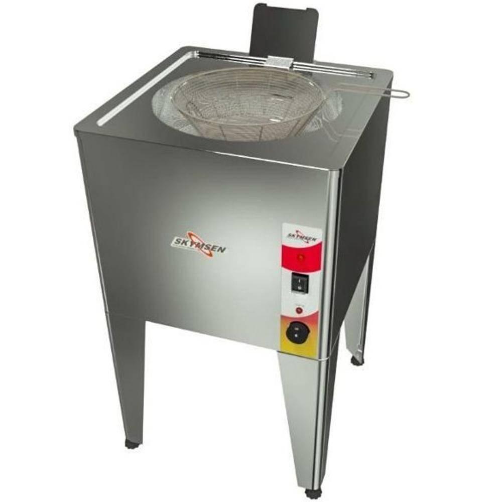 Fritadeira Elétrica Água E Óleo Inox  De Piso Frp-24
