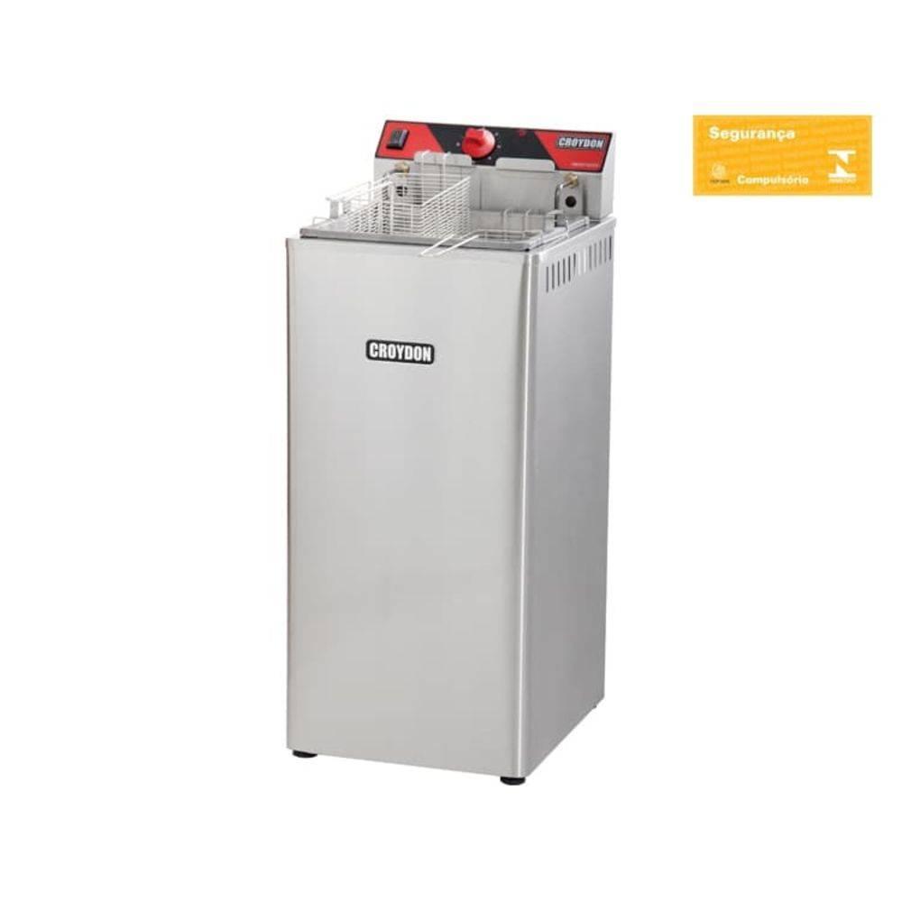 Fritador Elétrico 5000 W Zona Fria 15 Litros Fz25-2 Croydon
