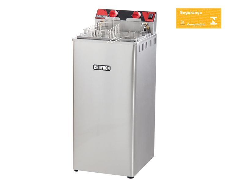 Fritadeira Elétrica  8000W 15 Litros Zona Fria Fz28-2 Croydon
