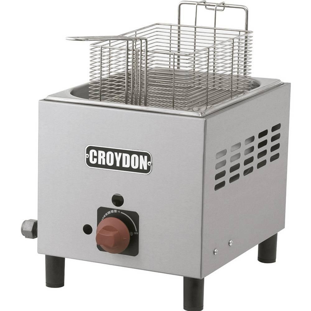 Fritadeira Industrial À Gás 4,5 Litros F1BG Croydon