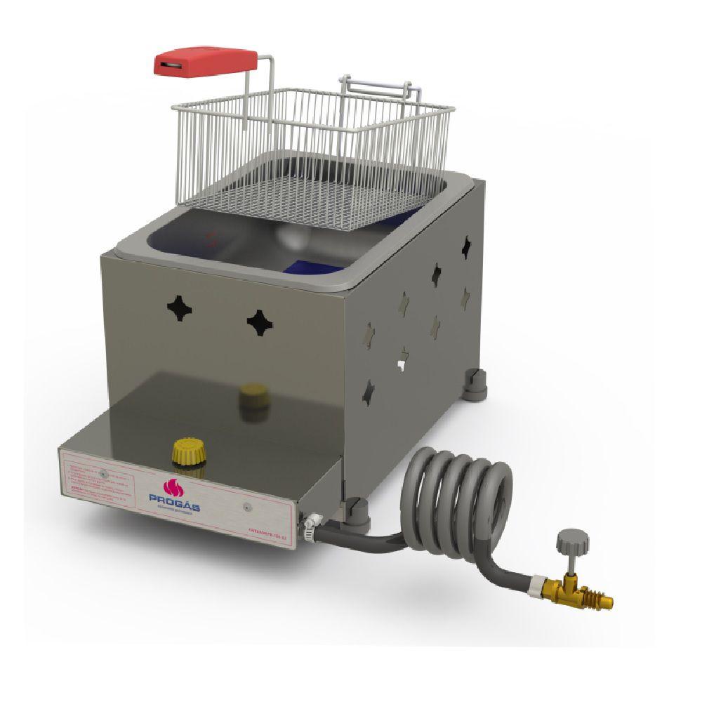 Fritadeira Inox a Gás 5 Litros PR-10G G2 Progás