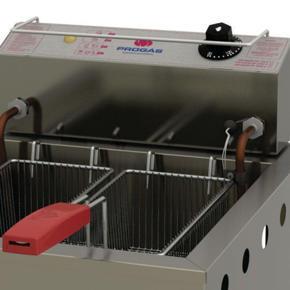 Fritador Água e Óleo 13lts PR-100E STYLE 127V Progás