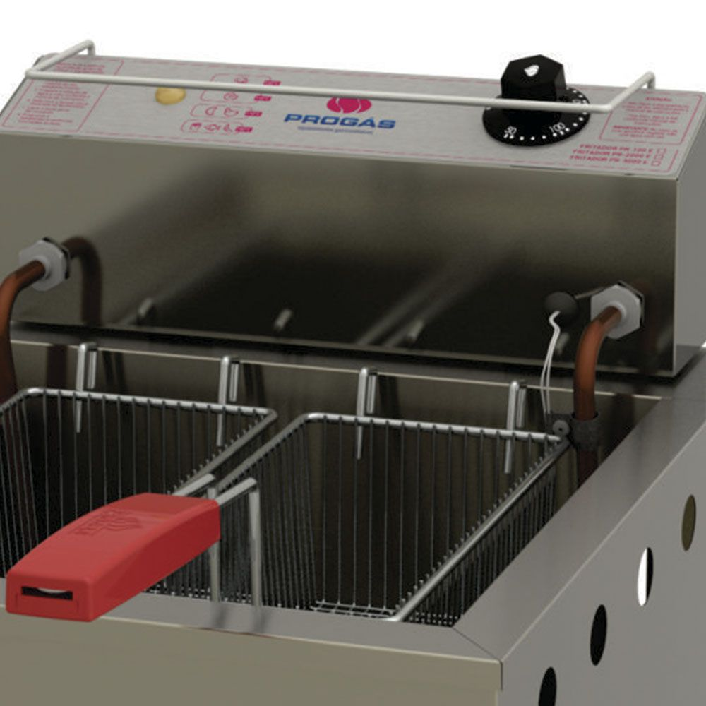 Fritador Água e Óleo 13lts PR-100E STYLE 220V Progás
