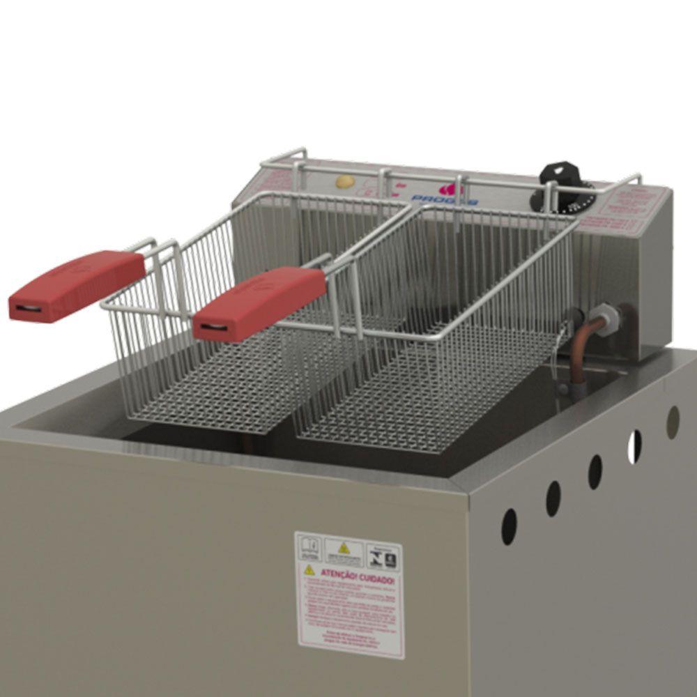 Fritador Água e Óleo 24 Litros PR-300E STYLE 220V Progás