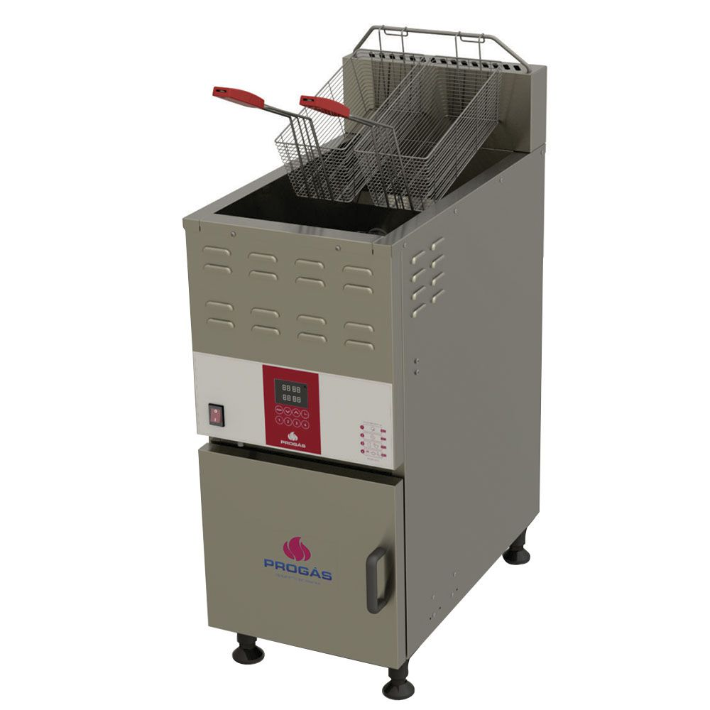 Fritador Água e Óleo 45L a Gás Alta Presão PFAP-45L 220V Progás